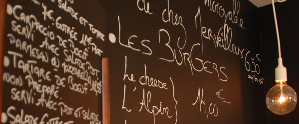 La carte du restaurant le broc à Lille