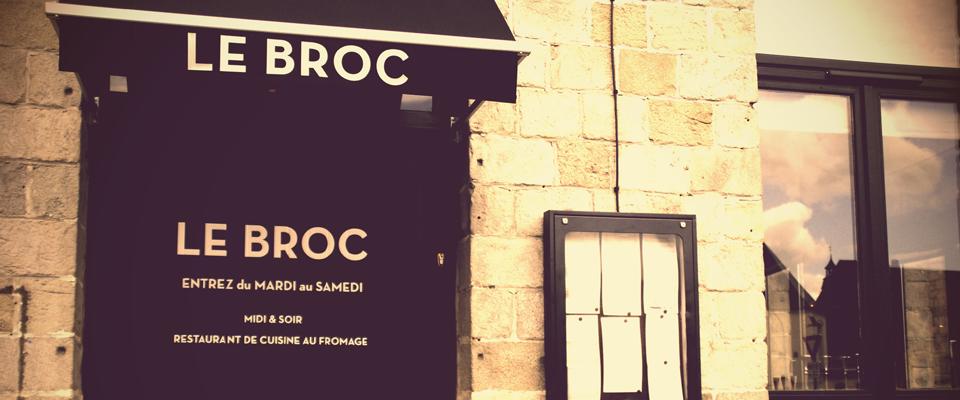 Bienvenue au restaurant Le Broc à Lille