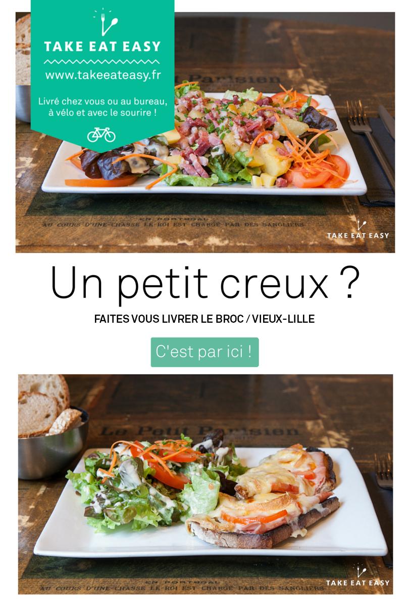 Livraison à domicile restaurant le Broc Lille  LE BROC